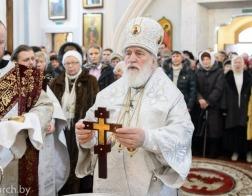 В праздник Крещения Господня митрополит Павел совершил Литургию в Свято-Духовом кафедральном соборе города Минска