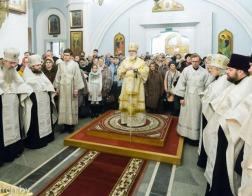 В канун Недели по Богоявлении митрополит Павел совершил всенощное бдение в Свято-Духовом кафедральном соборе города Минска