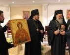 Русский приход в ОАЭ подарил икону сирийскому монастырю в освобожденной от террористов Маалюле