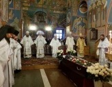 В Оптиной пустыни совершены отпевание и погребение новопреставленного наместника обители архимандрита Венедикта (Пенькова)
