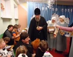 Архиепископ Брестский Иоанн посетил Кобринский детский дом