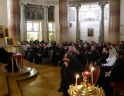 Представитель Белорусской Православной Церкви принял участие в социальных секциях Международных Рождественских чтений