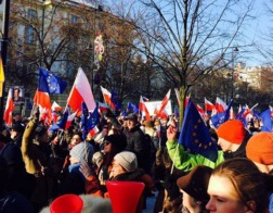 На востоке Польши прошли акции протеста против строительства исламского центра и мигрантов