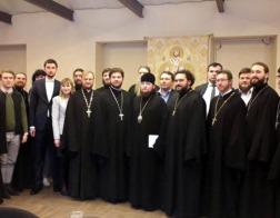 Представитель Белорусской Православной Церкви принял участие в работе молодежного направления Международных Рождественских чтений