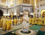 В день открытия Международных Рождественских чтений Святейший Патриарх Кирилл совершил Литургию в Храме Христа Спасителя