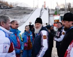 Патриарх Кирилл помолится о российских олимпийцах перед началом Игр