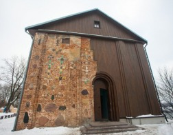 В приходском комплексе древнейшего храма Гродно открылась выставка, посвященная памяти новомучеников