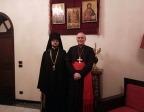 Секретарь ОВЦС по межхристианским отношениям встретился с апостольским нунцием в Сирии