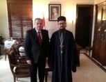 Представитель Патриарха Московского при Патриархе Антиохийском посетил Дамасский университет