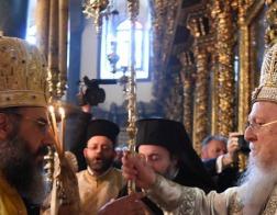 Патриарх Константинопольский Варфоломей возглавил хиротонию нового митрополита Симийского Хризостома