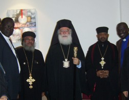Патриарх Александрийский и всея Африки Феодор II прибыл с визитом в Судан
