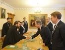 Председатель Отдела внешних церковных связей встретился с исполнительным директором Всемирной продовольственной программы ООН