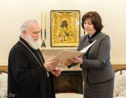 Митрополит Павел принял поздравления с днем рождения от представителей государства и общественности
