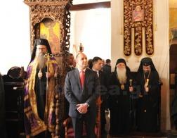 Иерарх Болгарской Православной Церкви вместе с президентом Болгарии посетил монастырь непризнанной Македонской Церкви