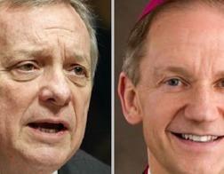 В США католический епископ отлучил от Причастия сенатора-католика, выступающего в поддержку абортов