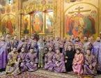 В Неделю Торжества Православия митрополит Астанайский и Казахстанский Александр совершил Литургию в Вознесенском соборе Алма-Аты