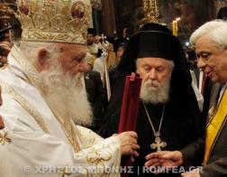 Торжества по случаю Недели Православия в Афинах возглавил Архиепископ Афинский и всей Греции Иероним