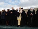 Святейший Патриарх Кирилл принял участие в торжествах по случаю Национального праздника Республики Болгарии на вершине Шипки
