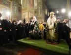 Предстоятели Русской Православной Церкви и Болгарской Православной Церкви отслужили благодарственный молебен в храме Рождества Христова на Шипке