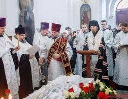 Состоялось отпевание новопреставленного протоиерея Иоанна Мисеюка — старейшего клирика Белорусской Православной Церкви