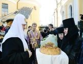 Святейший Патриарх Кирилл возглавил торжества по случаю 20-летия обретения мощей блаженной Матроны Московской