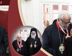94-летний митрополит Гор Ливанских Георгий (Ходр) ушел на покой