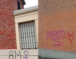 В Мадриде церкви подверглись нападению во время «феминистской забастовки» по случаю Международного женского дня