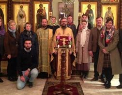 В храме представительства Русской Православной Церкви в Дамаске совершена Литургия