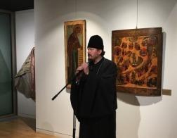 В Духовно-культурном центре в Париже проходит уникальная выставка русских икон XVI-XIX веков