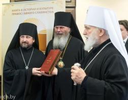 Патриарший Экзарх посетил книжную выставку в Минской духовной академии