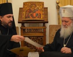 Новый представитель Патриарха Московского и всея Руси в Болгарии встретился с Патриархом Неофитом