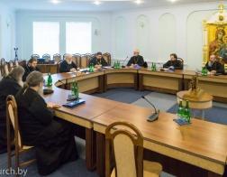 23 марта состоялось заседание Епархиального совета Минской епархии