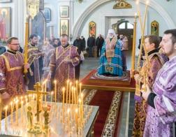 Патриарший Экзарх всея Беларуси совершил заупокойную литию по жертвам трагедии в Кемерово