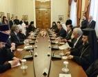 Состоялась встреча Предстоятеля Русской Православной Церкви с Президентом Республики Болгария