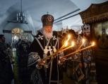 В понедельник Страстной седмицы Святейший Патриарх Кирилл совершил Литургию в Донском ставропигиальном монастыре