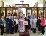 В Вербное воскресенье в храме Представительства Русской Православной Церкви в Дамаске совершена Литургия