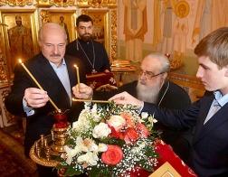 Александр Лукашенко встретился с митрополитом Филаретом