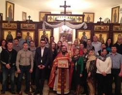 В храме представительства Русской Православной Церкви в Дамаске состоялось пасхальное богослужение