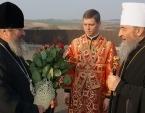 В Светлый четверг Предстоятель Украинской Православной Церкви совершил Литургию в Зимненском женском монастыре