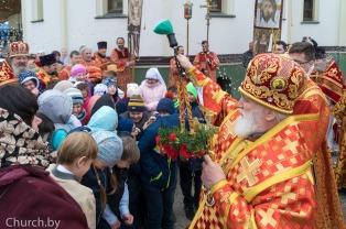 В среду Светлой седмицы митрополит Павел совершил Литургию в Елисаветинском женском монастыре города Минска