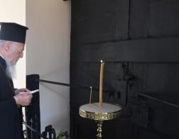 Патриарх Константинопольский Варфоломей совершил традиционное поминовение Патриарха-мученика Григория V