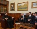 Митрополит Волоколамский Иларион встретился с представителями ассоциации Assisi Pax International