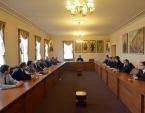 Председатель ОВЦС встретился со слушателями Высших дипломатических курсов