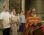 В Покровском храме Бутырской тюрьмы в Москве по благословению Святейшего Патриарха Кирилла совершено таинство Венчания