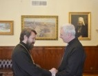 Председатель ОВЦС принял настоятеля англиканского прихода в Москве