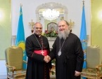 Митрополит Астанайский Александр и апостольский нунций в Республике Казахстан обсудили вопросы межконфессионального диалога в стране