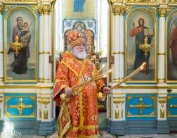 В канун Недели святых жен-мироносиц митрополит Павел совершил всенощное бдение в Свято-Духовом кафедральном соборе города Минска