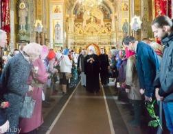 В Неделю святых жен-мироносиц митрополит Павел совершил Литургию в Марии-Магдалининском храме города Минска
