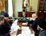 Митрополит Санкт-Петербургский Варсонофий провел заседание комиссии по распределению выпускников духовных учебных заведений