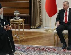 Патриарх Константинопольский Варфоломей встретился с президентом Турции Эрдоганом